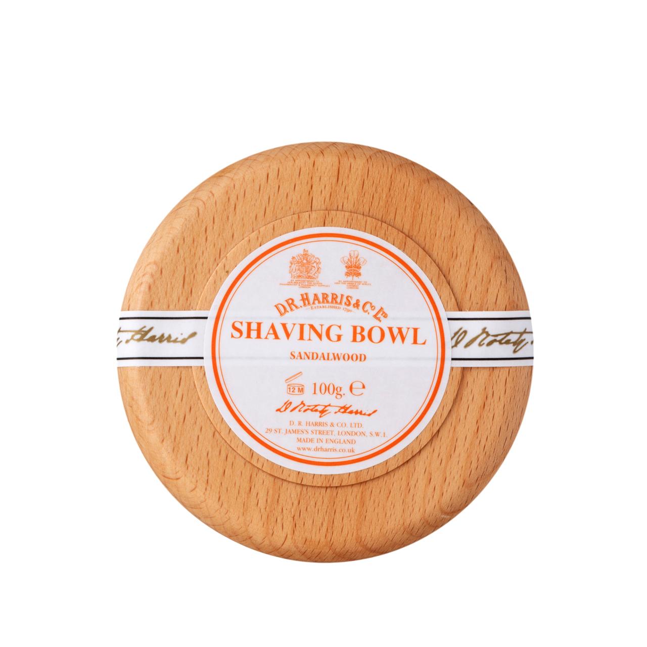Sandalwood - Shaving Soap Bowl
