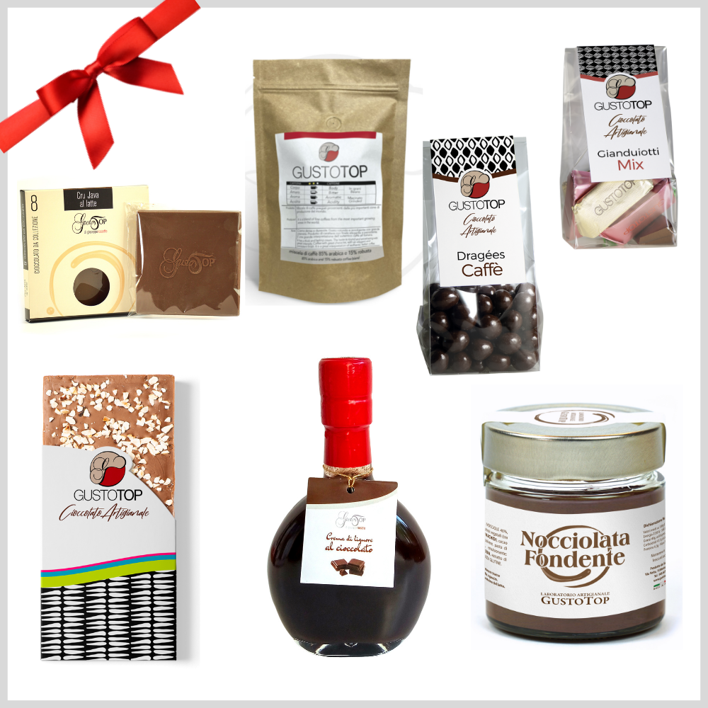 Confezione regalo media 8 pz - simpatica e gustosa idea regalo per tutte le occasioni. Promo regalo n. 2