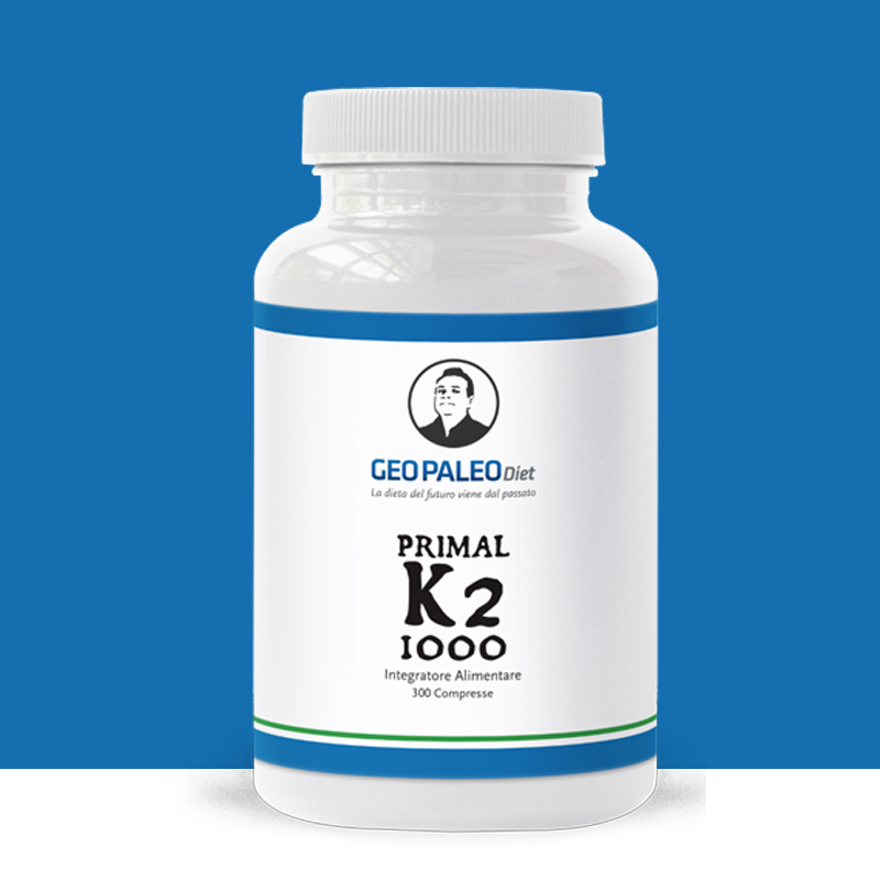 Primal K2 200 - Vitamina K2/MK7 - No Soya, No Glutine, No Lattosio