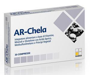 AR-Chela - Integratore Chelante dei Metalli Pesanti 30 Compresse