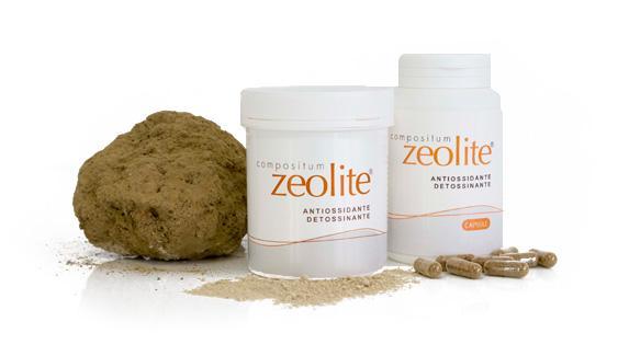 Zeolite Antiossidante in polvere - Toglie Metalli Pesanti e Tossine
