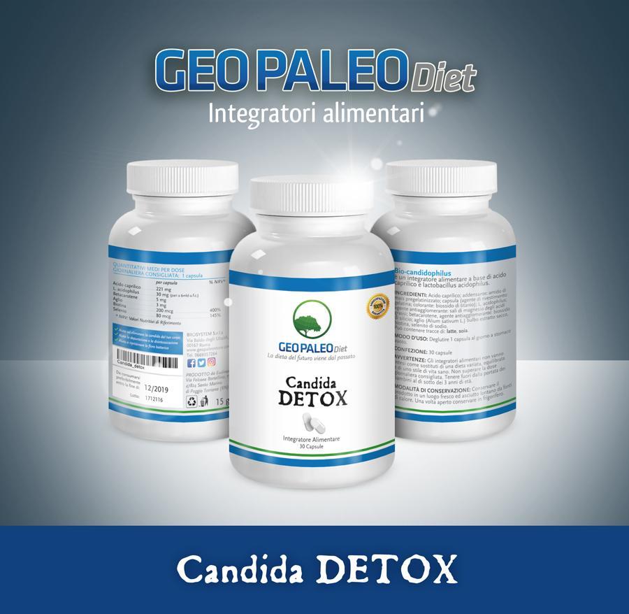 SCORTA 10 pezzi Candida Complex. 6 super-sostanze per Combatterla
