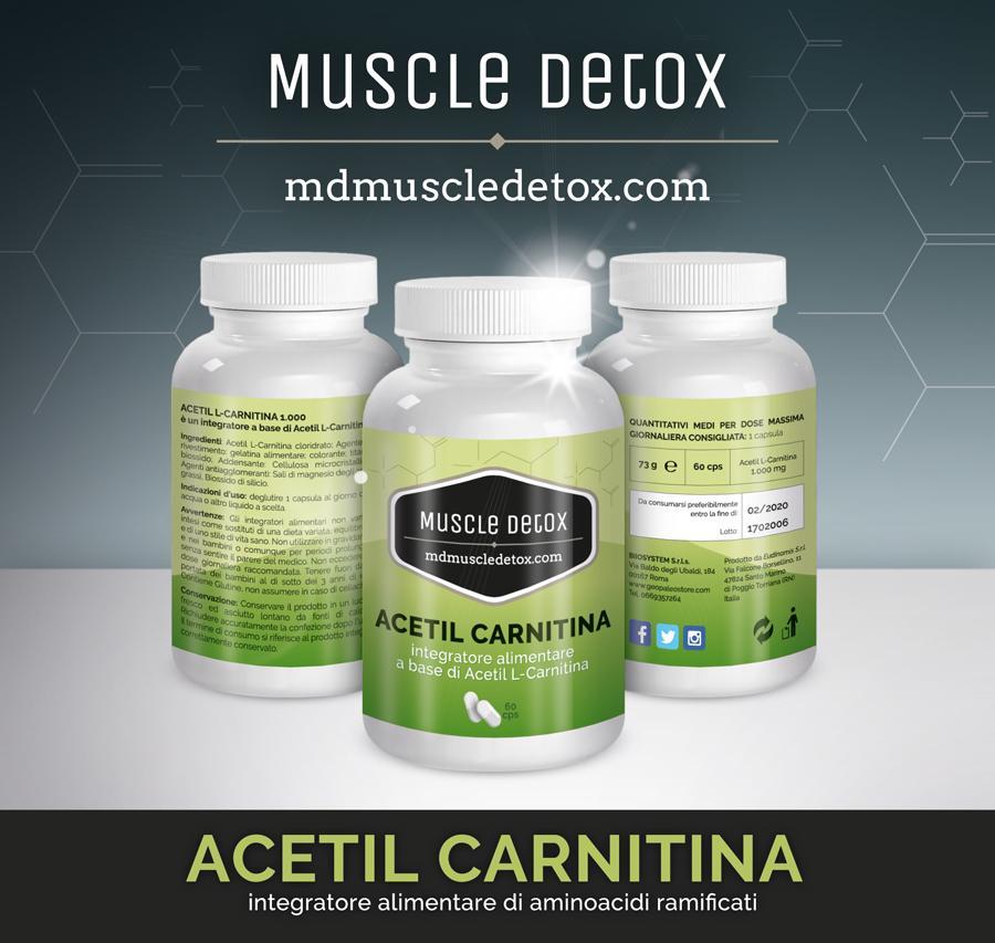 OFFERTA 18+2 pezzi Acetil Carnitina: Brucia il Grasso e migliora Memoria, Apprendimento e i Livelli di umore