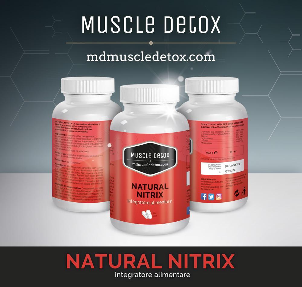 OFFERTA 26+4 pezzi MD Natural Nitrix: Ottimizza il sonno, Recupero Muscolare e Vasodilatazione delle arterie