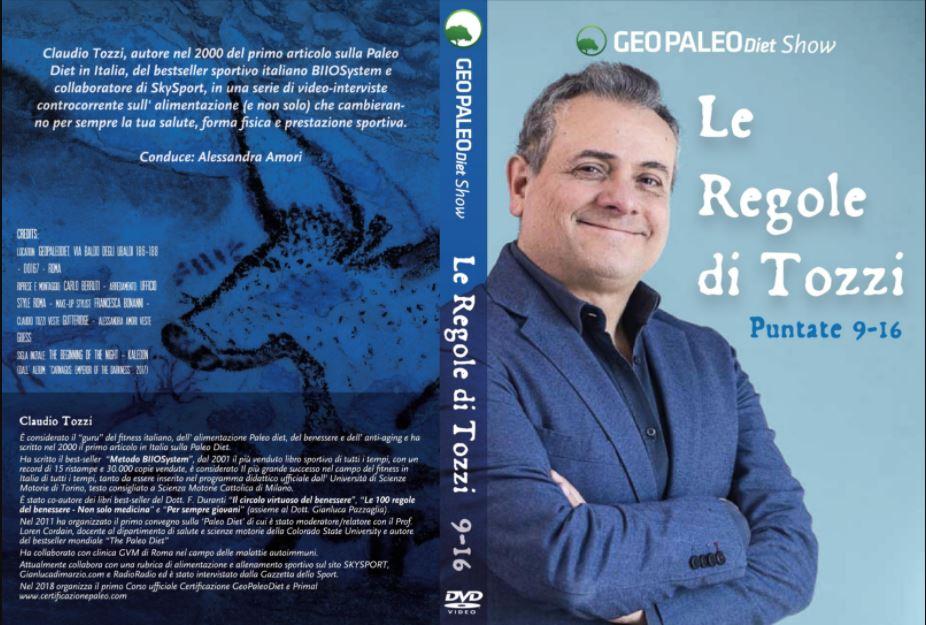 Le Regole di Tozzi - GeoPaleoDiet Show. DVD Video doppio - Puntate 9-16