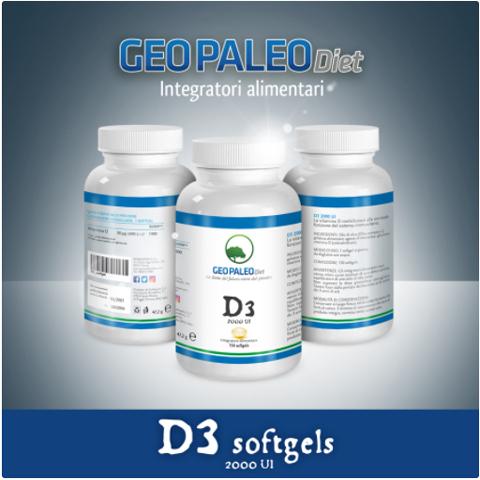 SCORTA 10pz Vitamina D3 Alto Dosaggio 2000 UI in capsule softgel con Olio di Oliva-2