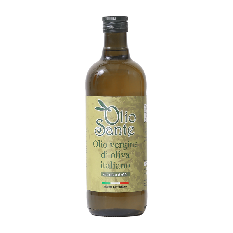 Olio vergine Ogliarola 1L 2020/21 - Olio vergine di oliva Italiano cultivar Ogliarola Sante in Latta da 1 Litro -