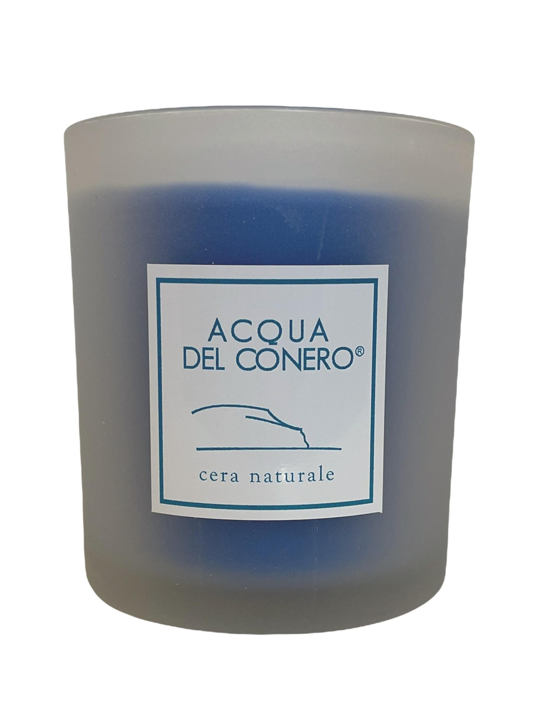 Candela artigianale Acqua del Conero.