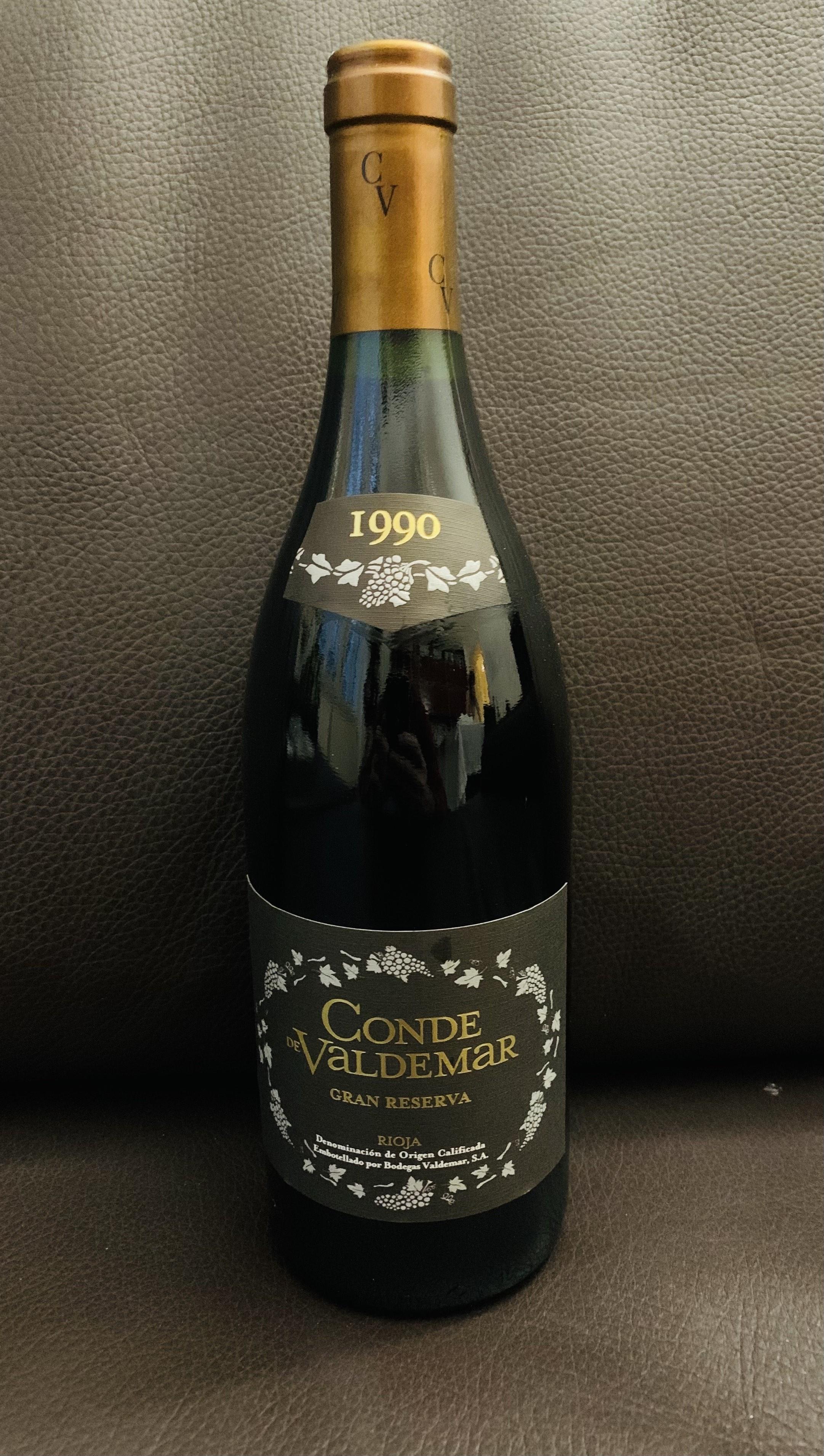 Gran Reserva 1985 - Bodegas Valdemar