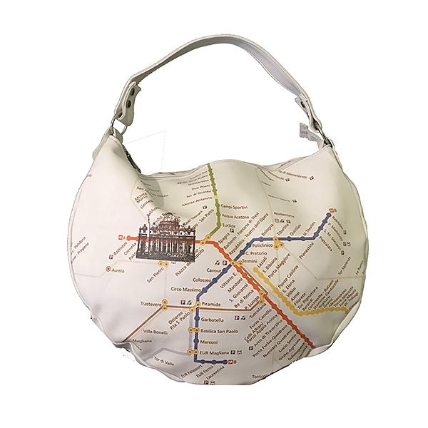 Borsa a sacca Linea Turistica&Map Merinda