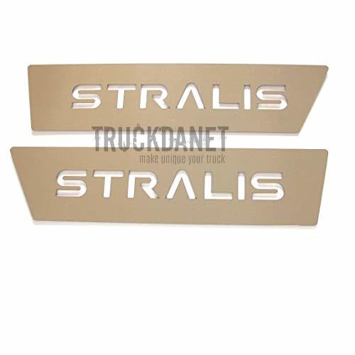 IVECO Inserti sotto portiera con scritta Stralis