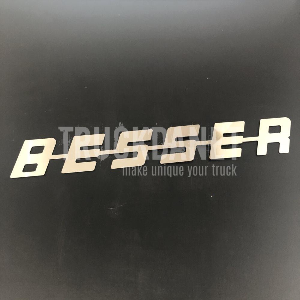 SCANIA Scritta Besser (73 cm x 10 cm)