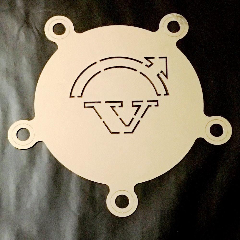 VOLVO Coprimozzo anteriore con decorazione Freccia