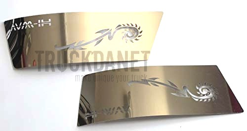 IVECO Placche laterali paraurti anteriore con scritta Hi-Way