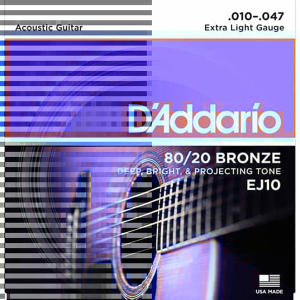 D'ADDARIO MUTA ACUSTICA EJ10 10-47