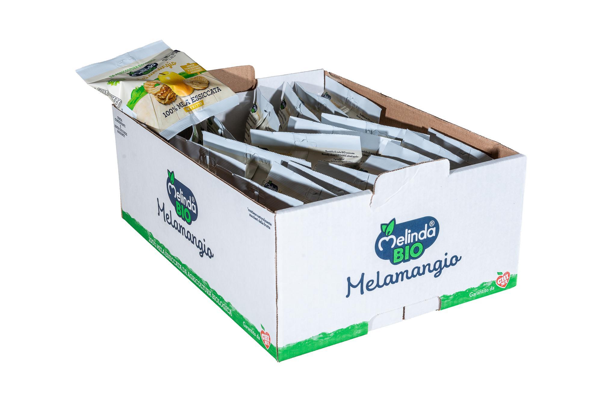 Melamangio Rondelle Melinda Bio – Cartone intero – 21 pz da 20g